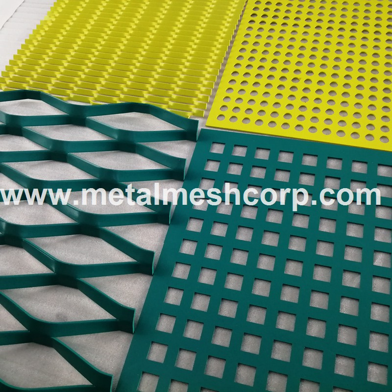 Decorative Aluminum Expanded Mesh for Facade Ceilings