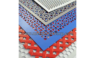 Fluorocarbon Spray-Color Design Metal Mesh