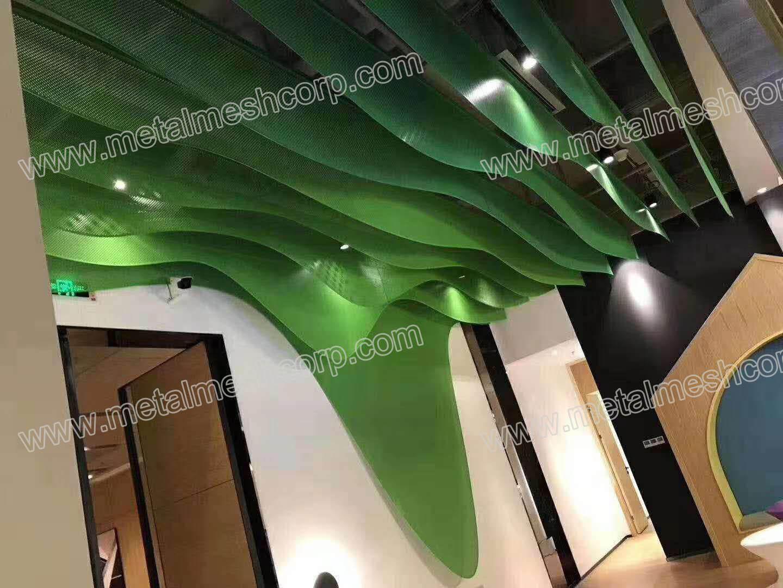 Decorative Metal Mesh Ceilings