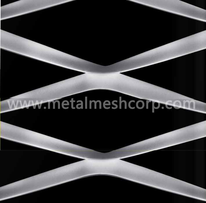 Aluminum Expanded Metal Mesh Cladding