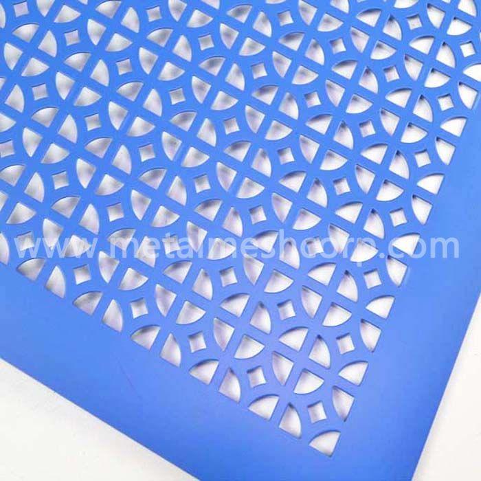 Round Hole Aluminum Perforated Mesh