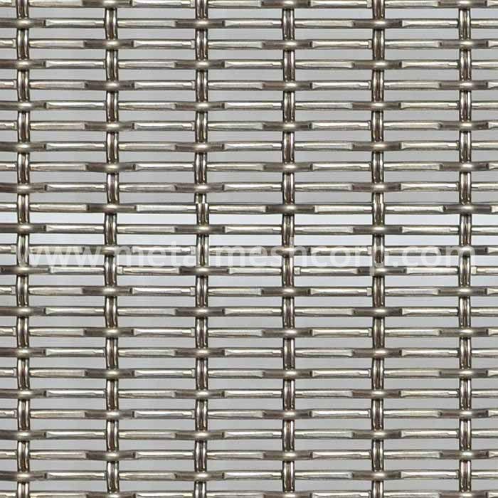 Rigid pattern Architectural Woven Wire Mesh