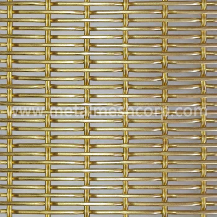 Stainless Steel Cable Rod Woven Wire Mesh