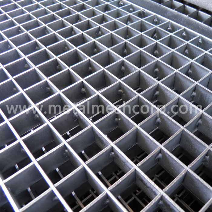 Press-Locked Steel Grating Bar