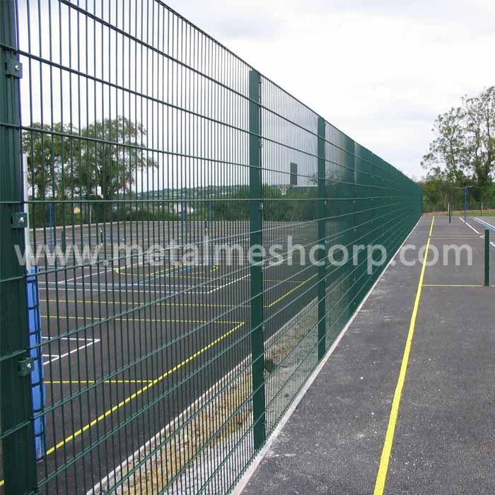 Welded 358 Mesh Fence Installation