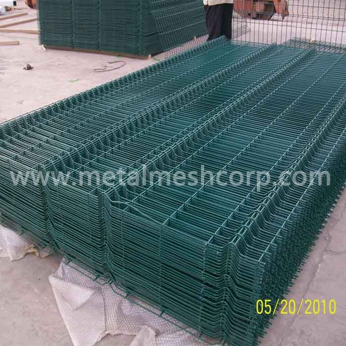 Powder Coated Welded Mesh Fence