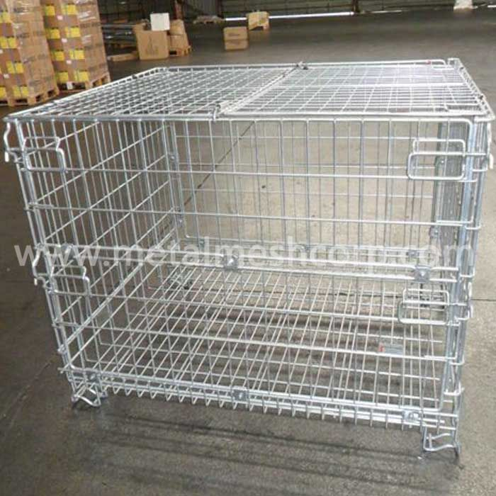Galvanized Welded Storage Cages