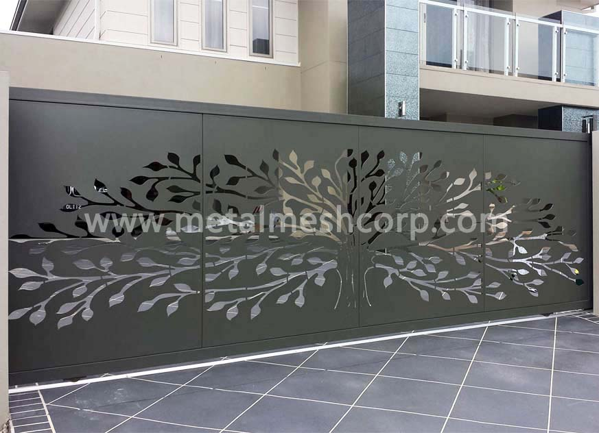 Laser Cutting Cladding for Apartments House