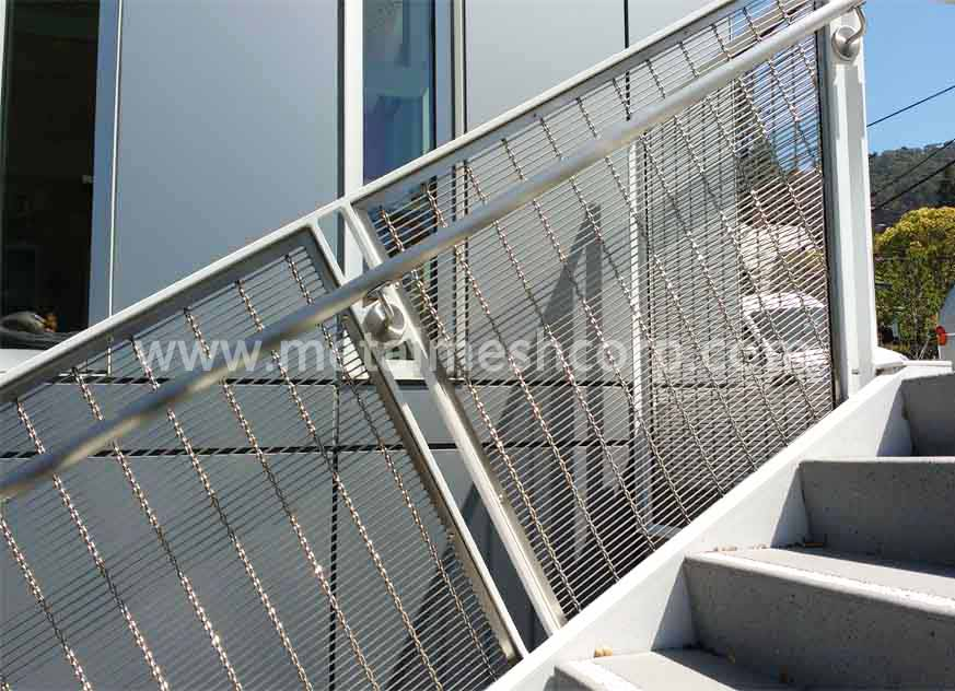 Architectural Cable Wire Mesh For Railings