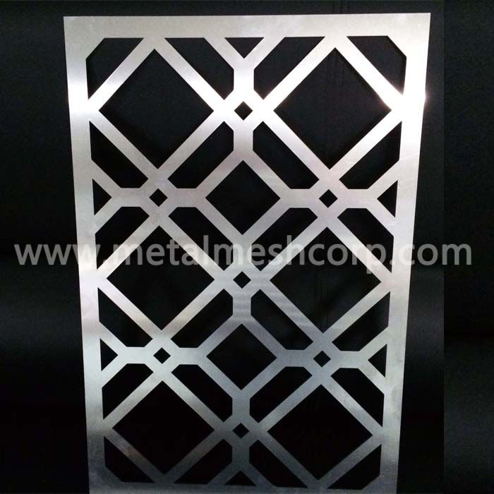 Decorative laser cut screens