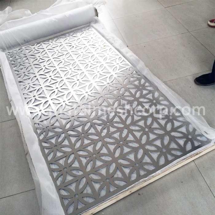 Laser Cut Aluminum Panels