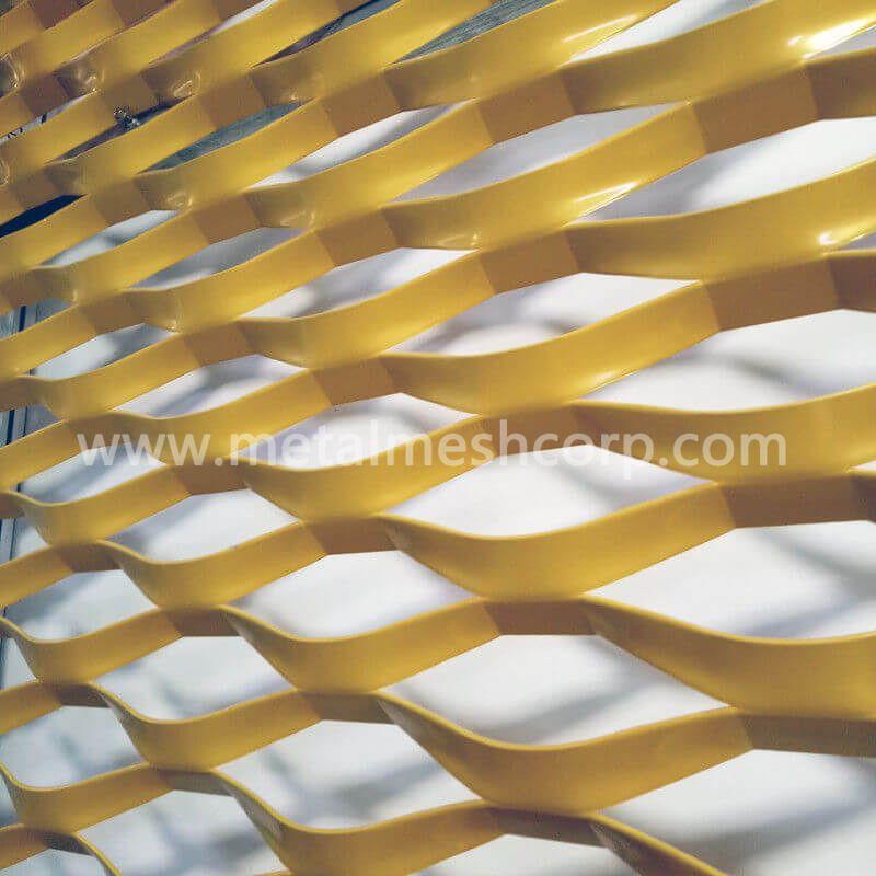 Antiglare Aluminum Expanded Metal Mesh