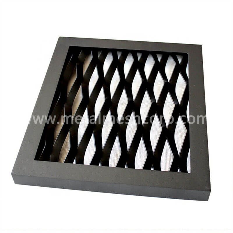 Decorative Brass Expanded Metal Mesh