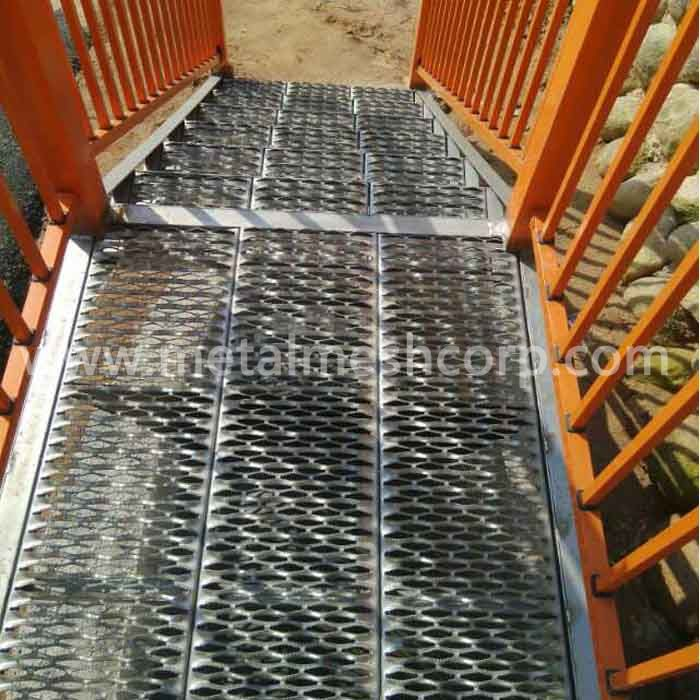 Anti Skid Grip Strut Grating Stair Treads