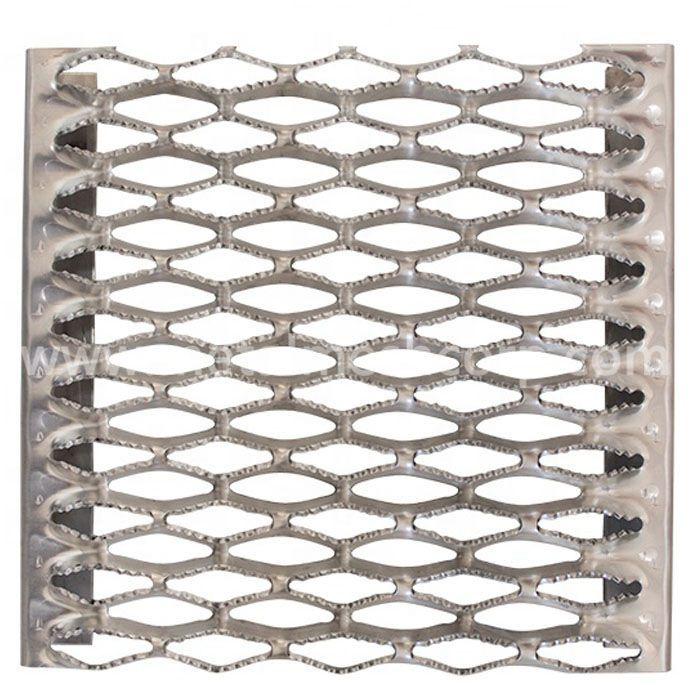 Aluminum Grip Strut Grating