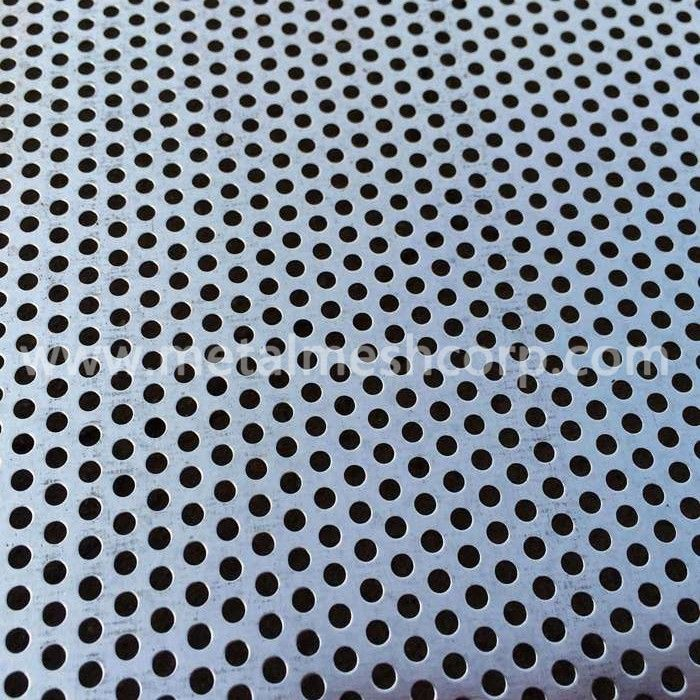 Galvanized Perforated Metal