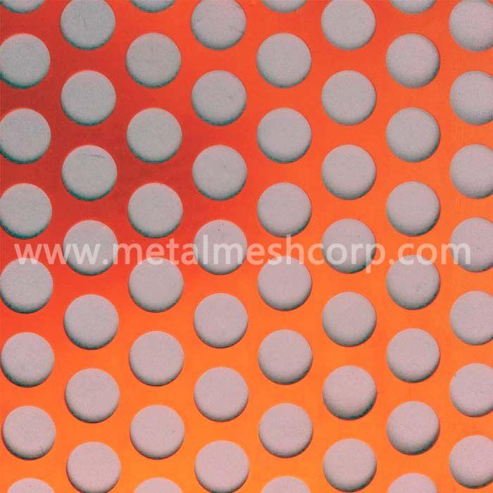 Powder Coated Perforated Metal Mesh