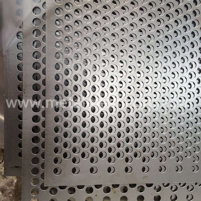 Perforated Metal Sheet For Concrete Formwork