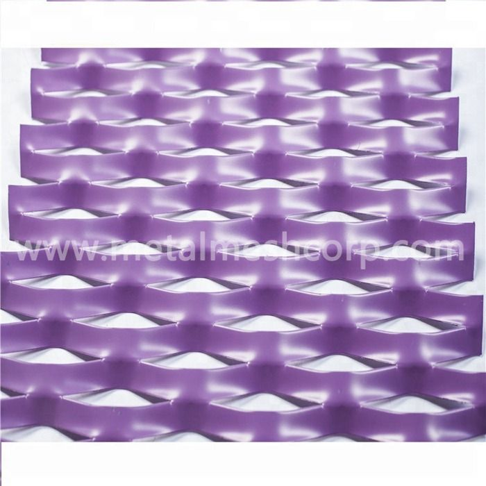 Anodized Aluminum Expanded Mesh