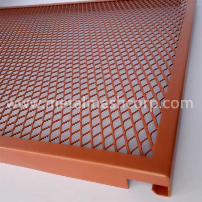 Decorative Expanded Metal Ceiling Tiles