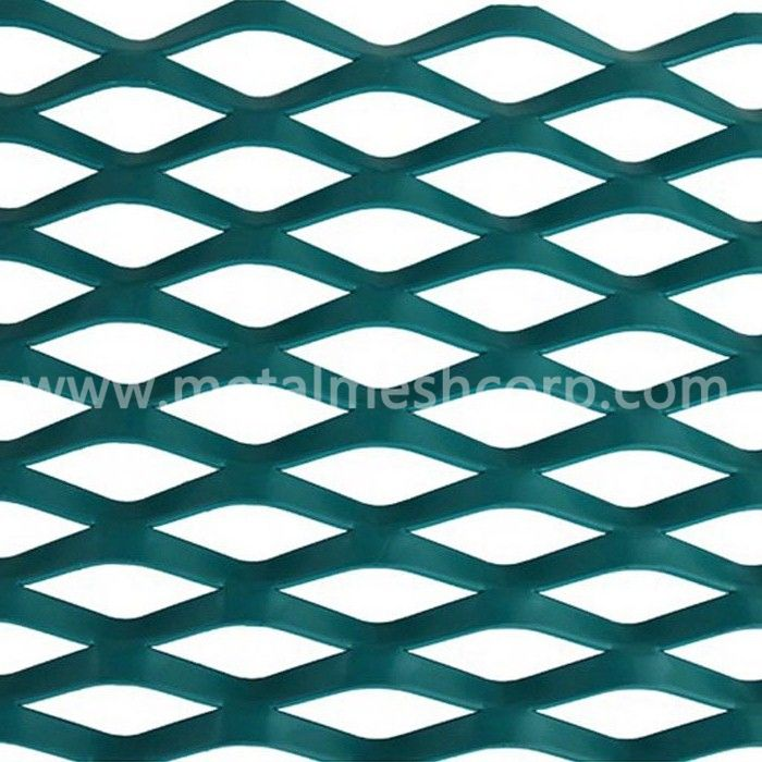 Decorative Expanded Metal Mesh Railing