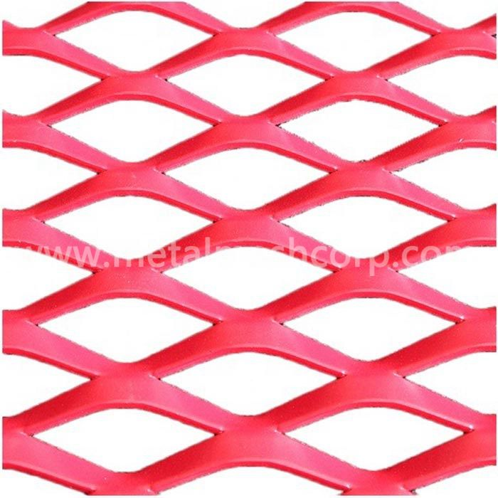 3.0mm Thickness Aluminum Expanded Metal Mesh