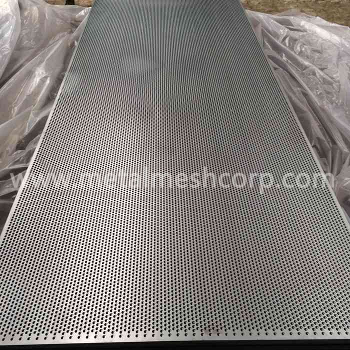 4ftx8ft Perforated Sheet Metal