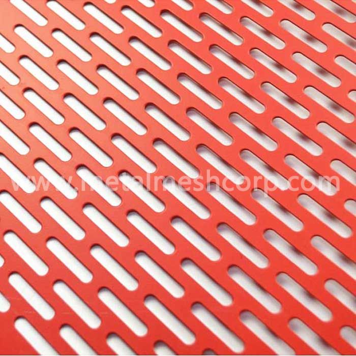 Aluminum Perforated metal mesh