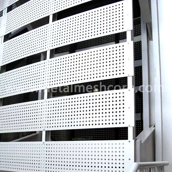 Aluminum Perforated Mesh for Wall cladding