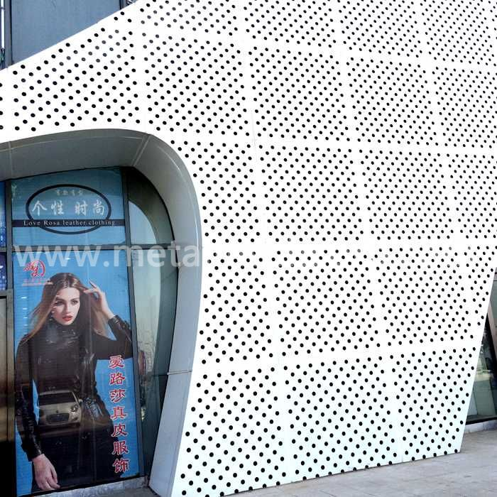 Decorative Perforated Mesh For Façade Claading