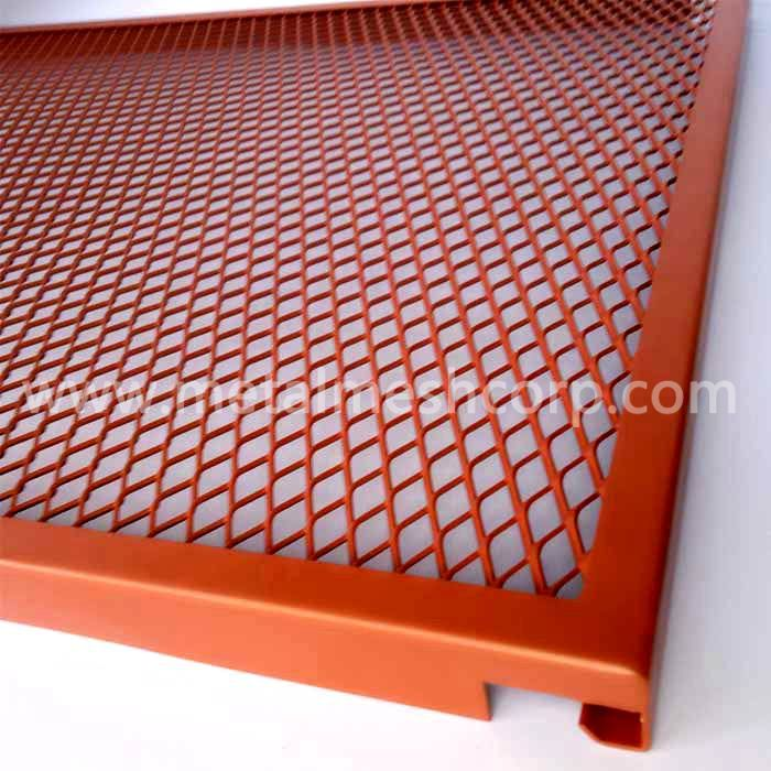 Interior Expanded Metal Mesh Ceiling
