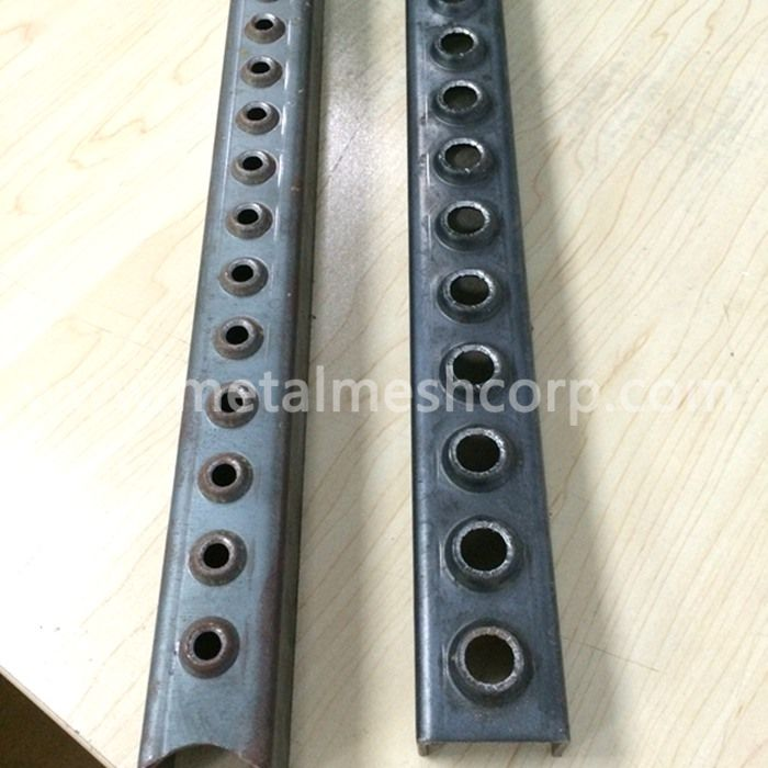 One Hole Steel Ladder Rung