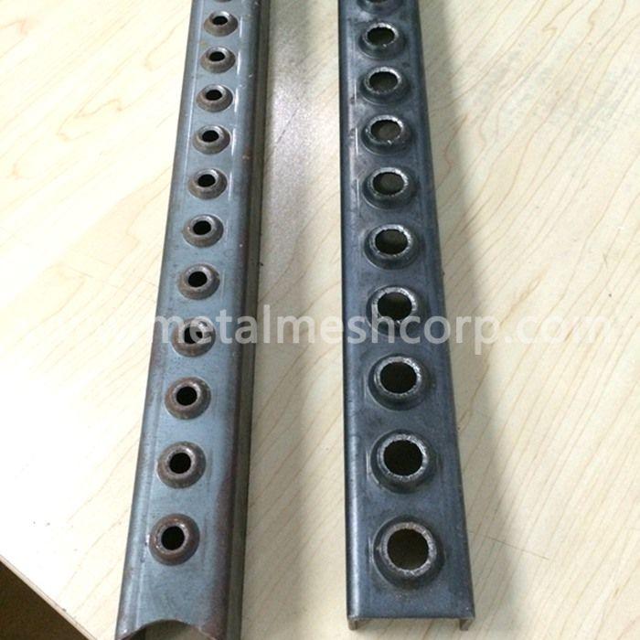 One Hole Steel Ladder Rung