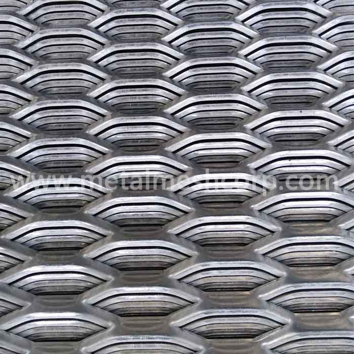 Expanded Aluminum Grating
