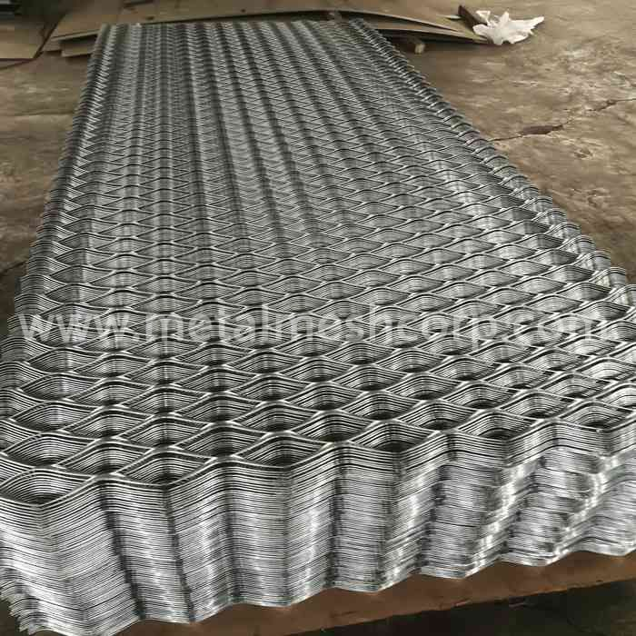 Various Color Aluminum Expanded Metal Mesh