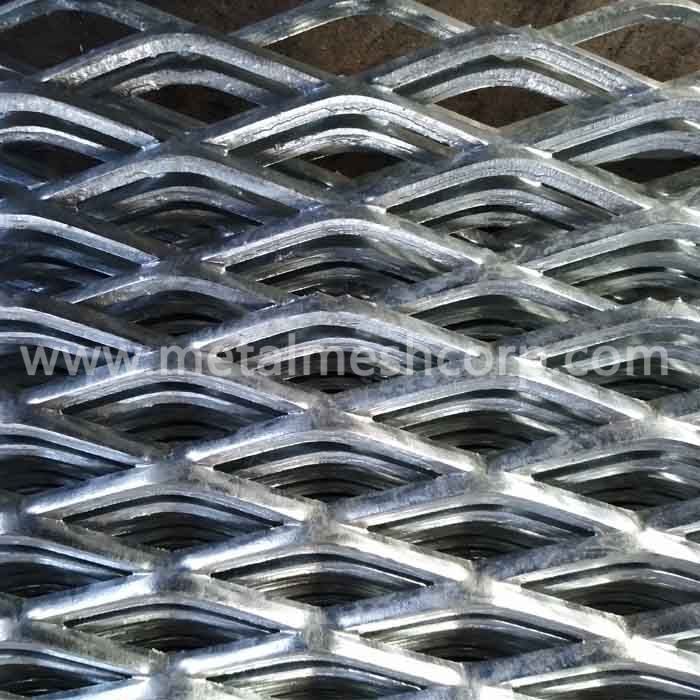 Zinc Coated Expanded Metal Sheet