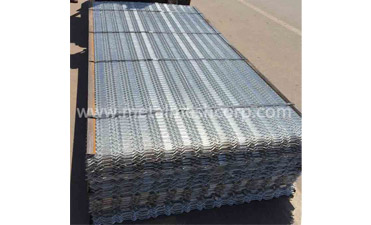 Hot Dipped Galvanized Expanded Metal Mesh Features