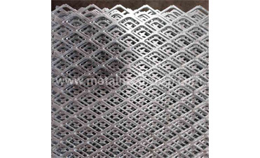 What are the raw material requirements for making Hot Dipped Galvanized Expanded Metal Mesh?
