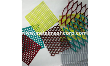 Our company has Decorative Aluminum Expanded Mesh for Facade Ceilings online.