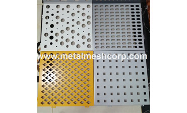 We have Decorative Perforated Mesh online.