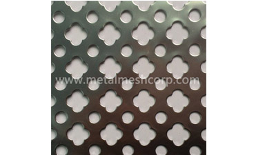 What is the Construction Method of the Building Perforated Net?