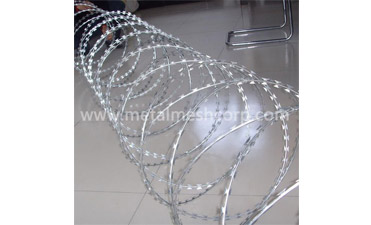 What are the Ways to Install the Razor Wire?