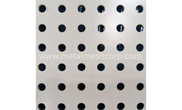 How is the Perforated Metal Mesh Made?