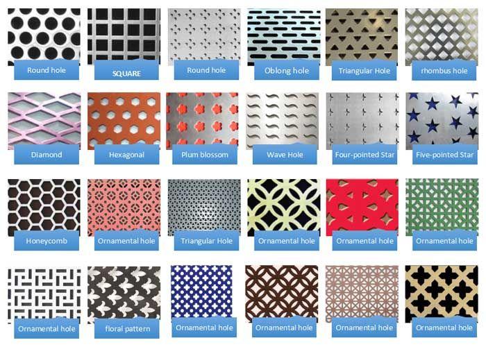 Round Hole Perforated Aluminum Sheet